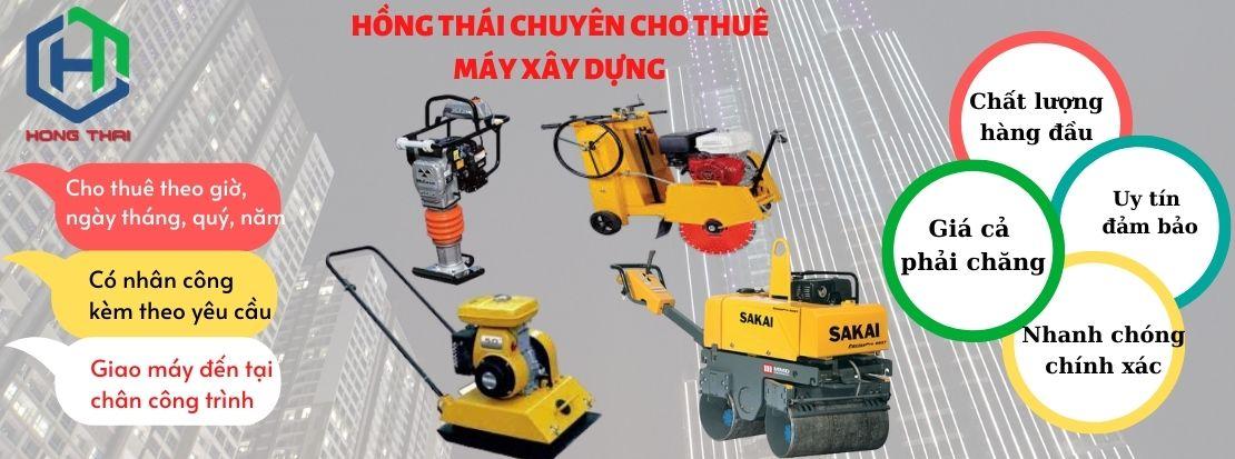cho thuê máy xây dựng tại Hà Nội